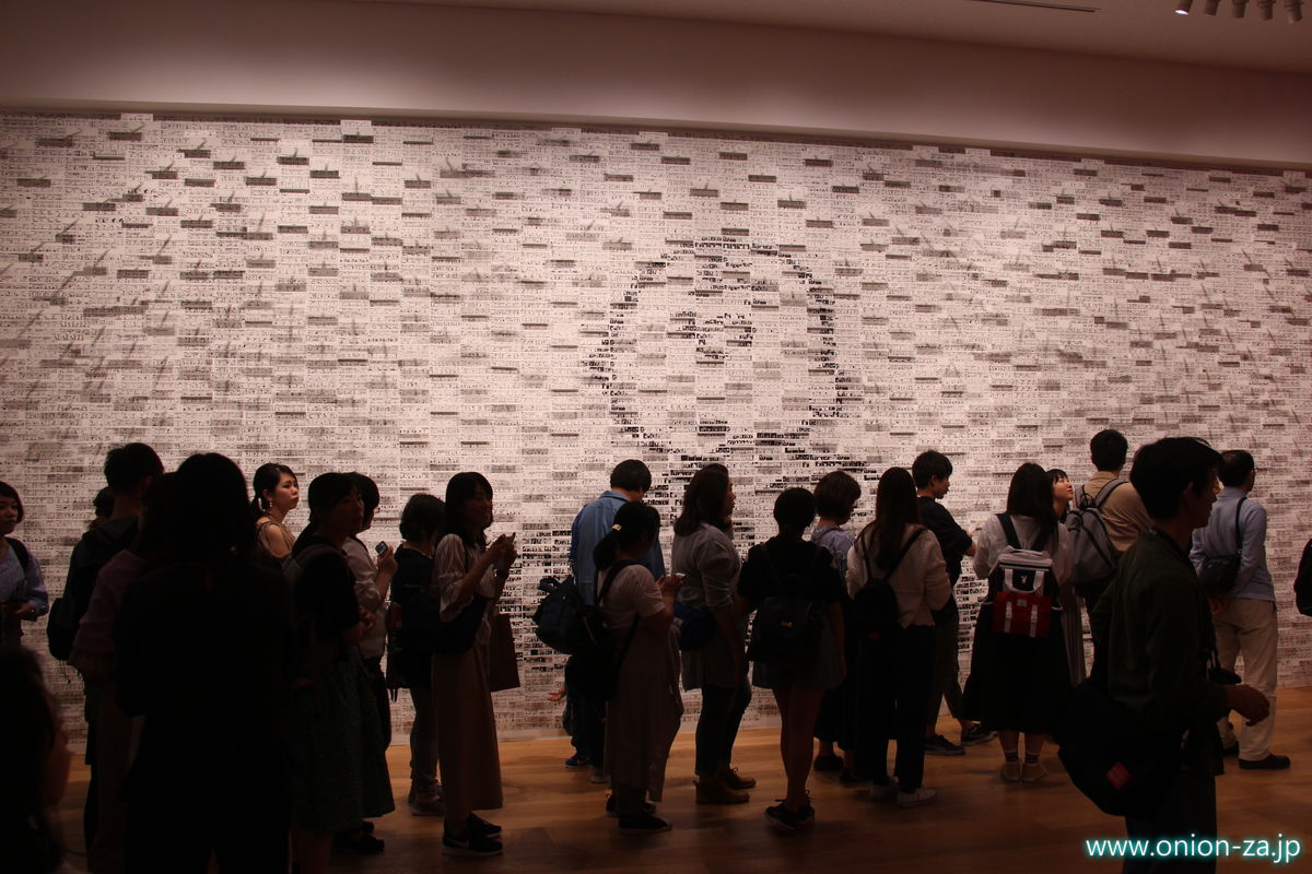 スヌーピーミュージアムの3Dアート