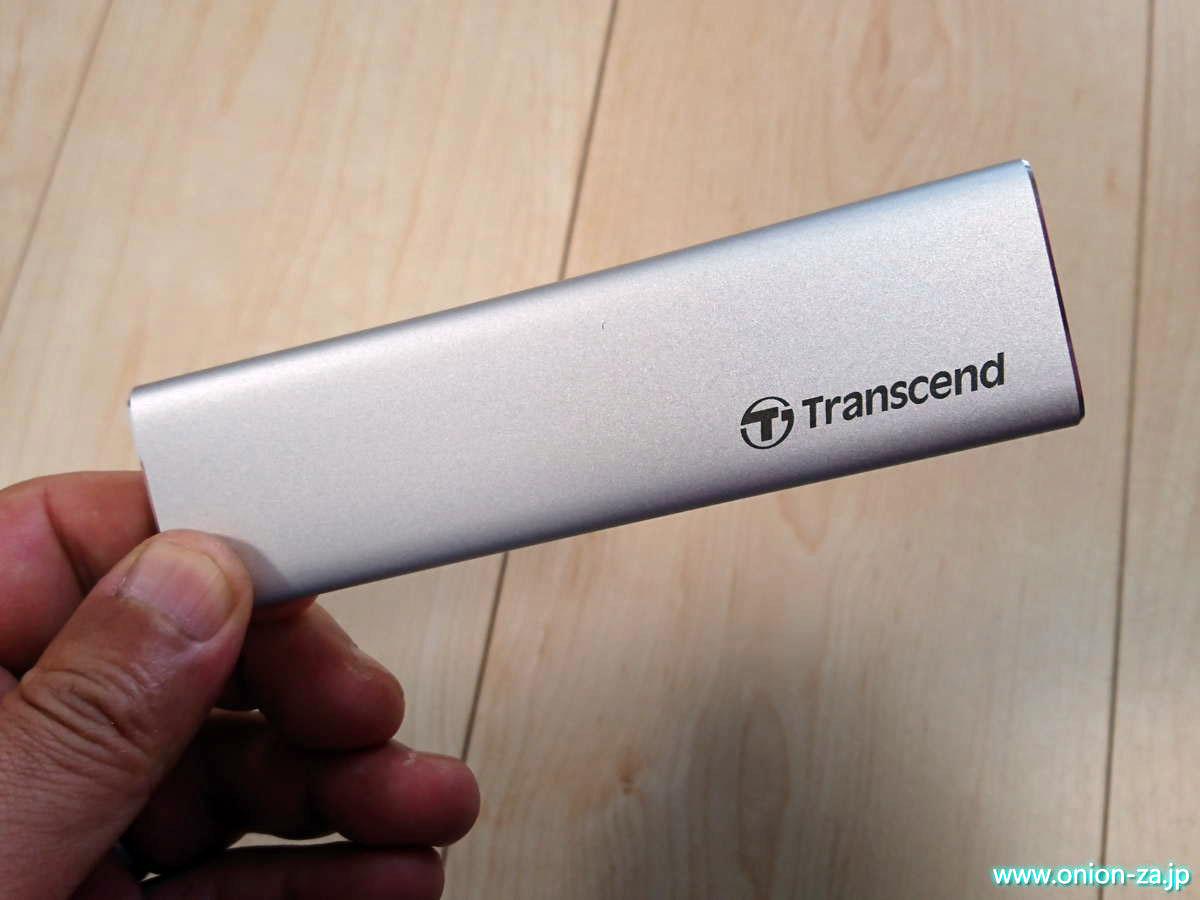トランセンドのM.2 SSD外付けケースは意外なほど高級感を感じた