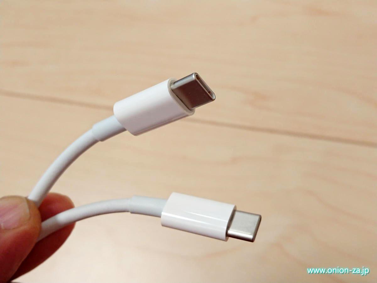 USB Type-C→Type-Cケーブルでも、30Wなどの高出力でPD充電できるケーブルは限られる