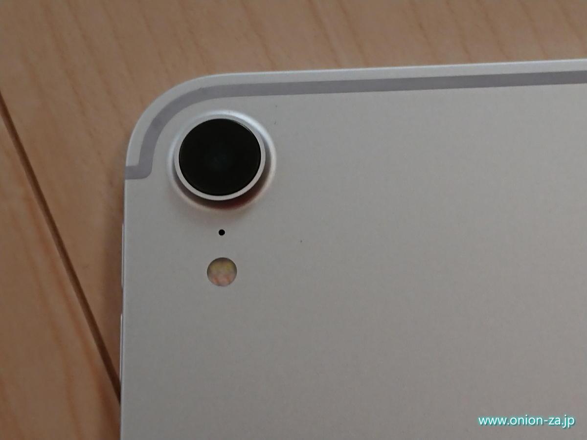なぜかここだけメカメカしいiPad Proのアウトカメラ部分